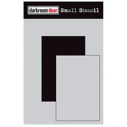 Darkroom Door Small Stencil - Short Rectangle Set DDSS030