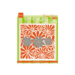 Marianne Design Embossing Folder - Daisies DF3451