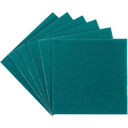 "Deco Foil Flock Transfer Sheets 6""X6"" 6/Pkg - Teal Waters"