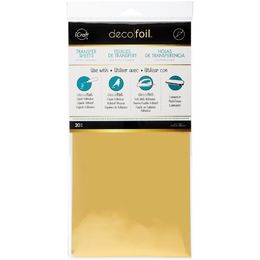 "iCraft DECO FOIL Transfer Sheets 6""X12"" 20/Pkg - GOLD"