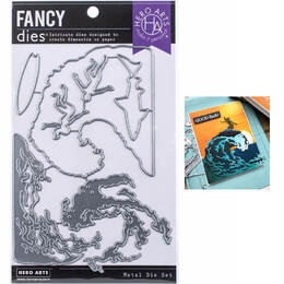 Hero Arts Fancy Dies - Surfs Up DI753