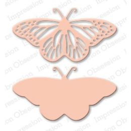 Impression Obsession Dies - Fancy Butterfly DIE059-N