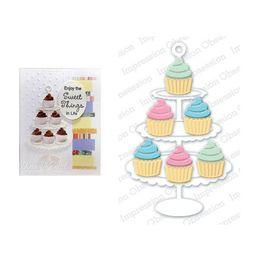 Impression Obsession Dies - Cupcake Stand DIE321-Z