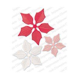 Impression Obsession Dies - Large Poinsettia Set DIE323-Z
