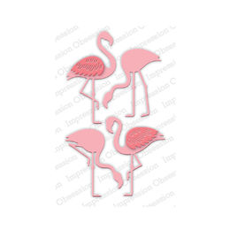 Impression Obsession Dies - Flamingo Set DIE697-W