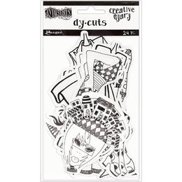Dyan Reaveley's Dylusions Creative Dyary Die Cuts - Set 7 DYE60154