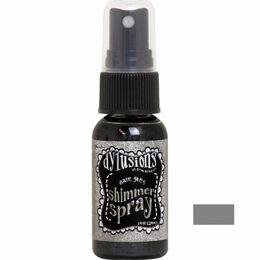 Dyan Reaveley's Dylusions Shimmer Spray 1oz - Slate Grey DYH68426