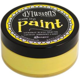 Dyan Reaveley's Dylusions Blendable Acrylic Paint - Lemon Zest DYP45991