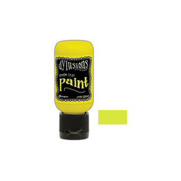 Dylusions Paint Flip Cap 1oz - Lemon Zest DYQ70535