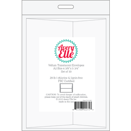 Avery Elle Vellum A2 Envelopes - 10 Pack E1501