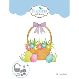 Elizabeth Craft Designs Dies - Spring Basket EC1460