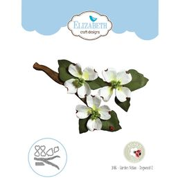 Elizabeth Craft Designs Dies - Garden Notes - Dogwood 2 EC1486
