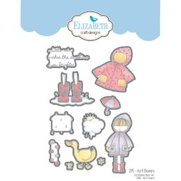 Elizabeth Craft Designs Dies - April Showers EC1495