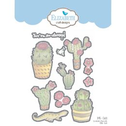 Elizabeth Craft Designs Dies - Cacti EC1496 - discontinued