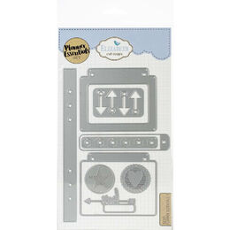 Elizabeth Craft Metal Die - Planner Essentials 5 EC1607