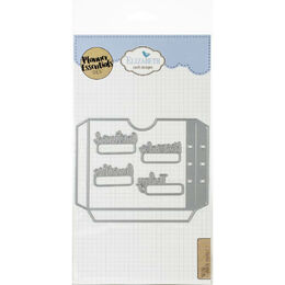 Elizabeth Craft Metal Die - Planner Pocket 1 EC1608