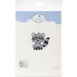 Elizabeth Craft Metal Die - Raccoon EC1683