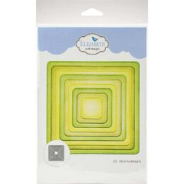 Elizabeth Craft Metal Die - Stitched Rounded Square EC1702