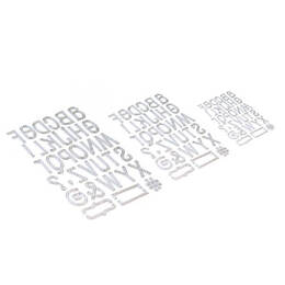Elizabeth Craft Metal Die - Retro Alphabet Trio EC1741