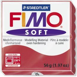 Fimo - Soft Polymer Clay 2oz - Cherry Red EF8020-26US