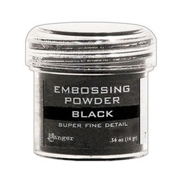 Ranger Embossing Powder - Super Fine Black EPJ37392