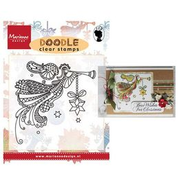 Marianne Design - Clear Stamp - Doodle Angel EWS2220