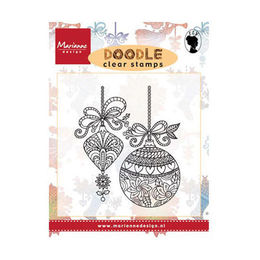 Marianne Design - Clear Stamp - Doodle Christmas Decoration EWS2221