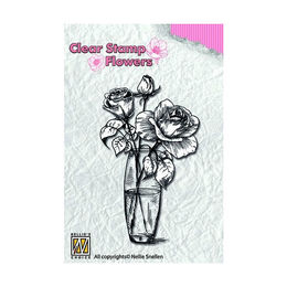 Nellie Snellen Flowers Clear Stamps - Roses FLO013