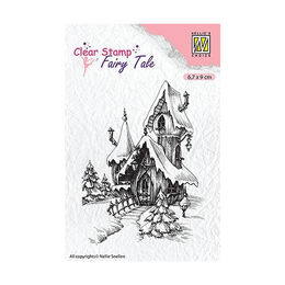 Nellie Snellen Fairy Tale Clear Stamps - Winter Castle FTCS011