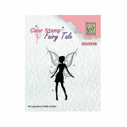 Nellie Snellen Fairy Tale Clear Stamps - Fairies-13 FTCS015