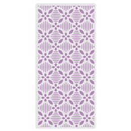 "Gemini Embossing Folder 5.75"" x 2.75"" - Geometric Florals"