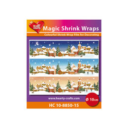 Magic Shrink Wraps - Winter (10cm) HC10-8850-15