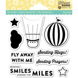 "Jillibean Soup Clear Stamps 4""X4"" - Fly Away JB0841"