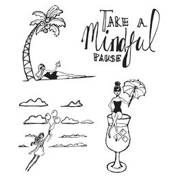 Jane Davenport Artomology Clear Stamps - Mindful Pause JDS023