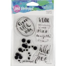 Jane Davenport Artomology Clear Stamps - Mad Confetti