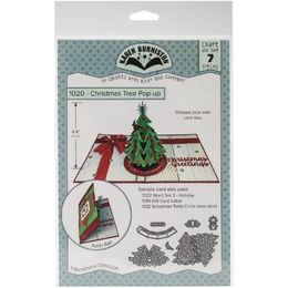 Karen Burniston Dies - Christmas Tree Pop-Up KBR1020