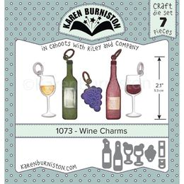 Karen Burniston Dies - Wine Charms KBR1073