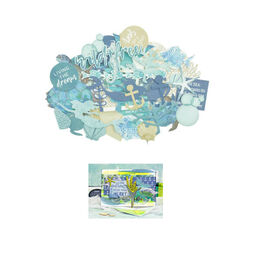 Kaisercraft Embellishments Collection - Deep Sea CT951