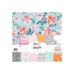 Kaisercraft Paper Pack 12x12 with Bonus Sticker Sheet - Blessed PK596