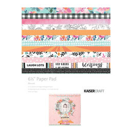 Kaisercraft Paper Pad 6.5x6.5 - Blessed PP1059