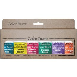 Ken Oliver - Color Burst Powder 6/Pkg - Brights KNCPW66117