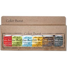 Ken Oliver - Color Burst Powder 6/Pkg - Moroccan KNCPW67069