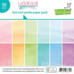 Lawn Fawn Petite Paper Pack - Watercolor Wishes LF1355