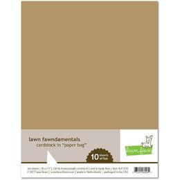 Lawn Fawn - Cardstock - Paper Bag LF1574