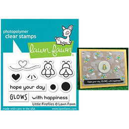 Lawn Fawn - Clear Stamps - Little Fireflies LF1593
