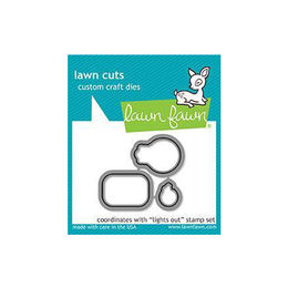Lawn Fawn - Lawn Cuts Dies - Lights Out LF1632