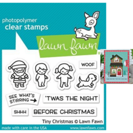 Lawn Fawn - Clear Stamps - Tiny Christmas LF2022