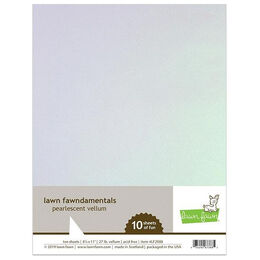 Lawn Fawn - Cardstock - Pearlescent Vellum LF2088