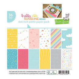 ** Backorder ** Lawn Fawn Petite Paper Pack - Hello Sunshine Remix LF2199
