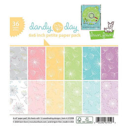 ** Backorder ** Lawn Fawn Petite Paper Pack - Dandy Day LF2208